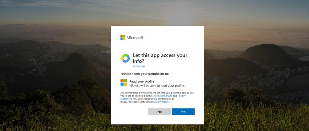 Microsoft account integration